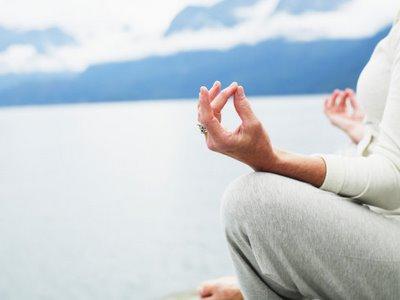 Yoga og meditaion er en god vej til indre ro………