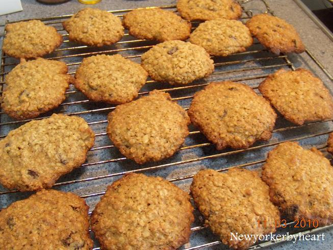 nemme cookies med havregryn