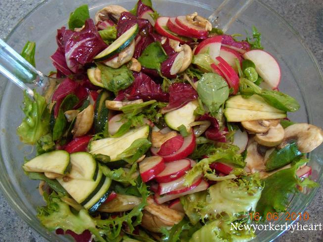 italiensk grøn salat