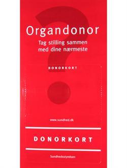 Organdonor