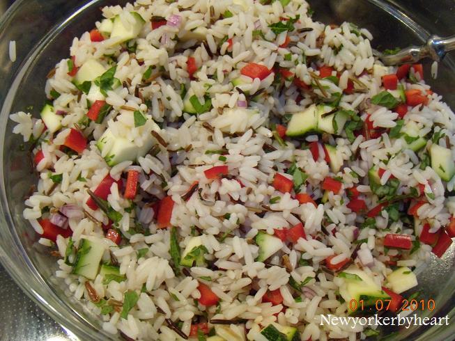 ris salat opskrifter