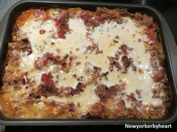 lasagne med mornay